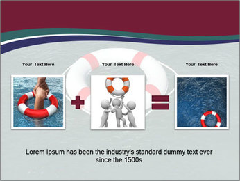 Lifebuoy PowerPoint Template - Slide 22