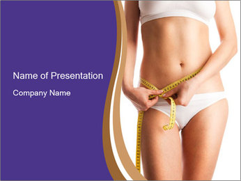 Woman PowerPoint Template - Slide 1