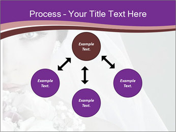 Beautiful bride PowerPoint Templates - Slide 91