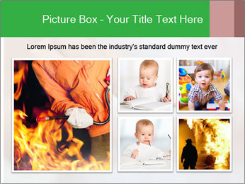 Burning PowerPoint Templates - Slide 19