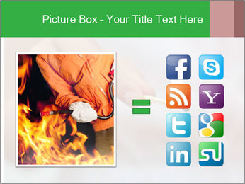 Burning PowerPoint Templates - Slide 21