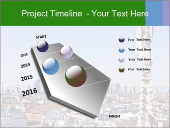 Milan panoramic skyline PowerPoint Template - Slide 26