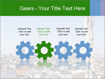 Milan panoramic skyline PowerPoint Template - Slide 48
