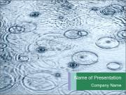 Rain drops PowerPoint Templates