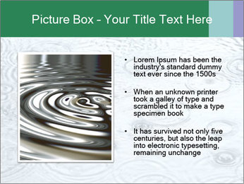 Rain drops PowerPoint Template - Slide 13