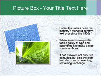 Rain drops PowerPoint Template - Slide 20
