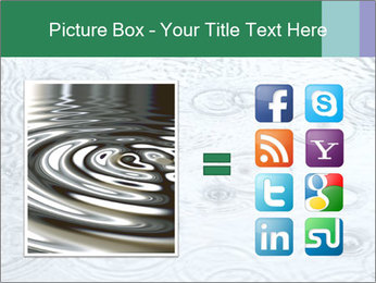 Rain drops PowerPoint Template - Slide 21