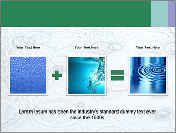 Rain drops PowerPoint Template - Slide 22