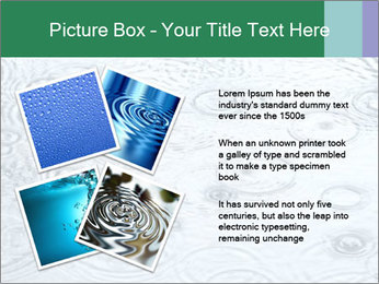 Rain drops PowerPoint Template - Slide 23