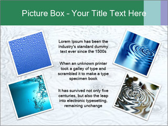 Rain drops PowerPoint Template - Slide 24