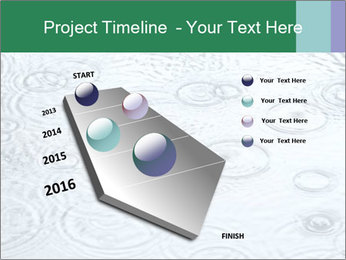 Rain drops PowerPoint Template - Slide 26