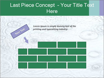 Rain drops PowerPoint Template - Slide 46