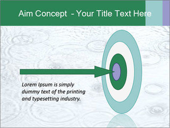 Rain drops PowerPoint Template - Slide 83