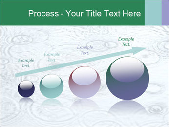 Rain drops PowerPoint Template - Slide 87