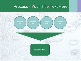 Rain drops PowerPoint Template - Slide 93
