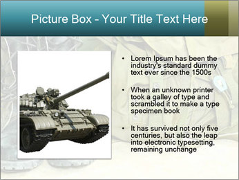 Army boots PowerPoint Template - Slide 13