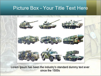 Army boots PowerPoint Template - Slide 15