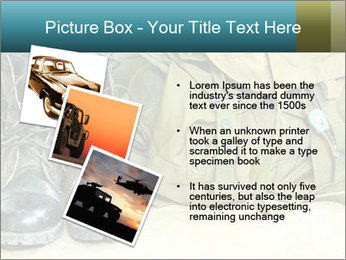 Army boots PowerPoint Template - Slide 17