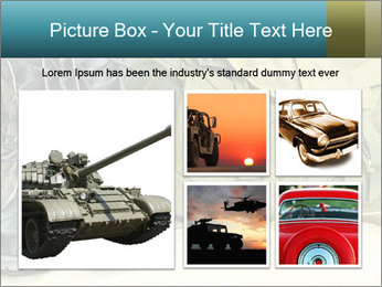 Army boots PowerPoint Template - Slide 19