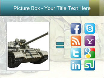Army boots PowerPoint Template - Slide 21