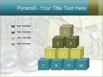 Army boots PowerPoint Template - Slide 31