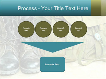 Army boots PowerPoint Template - Slide 93