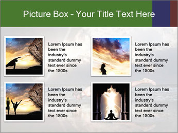 Yoga PowerPoint Templates - Slide 14