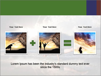 Yoga PowerPoint Template - Slide 22