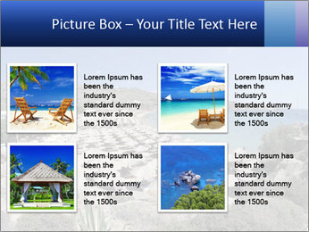 Paradise beach PowerPoint Template - Slide 14