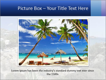 Paradise beach PowerPoint Template - Slide 15