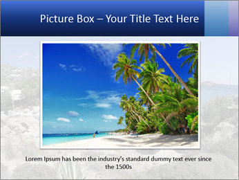 Paradise beach PowerPoint Template - Slide 16