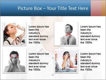 Man looking down PowerPoint Templates - Slide 14