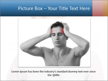 Man looking down PowerPoint Templates - Slide 15