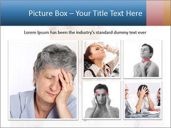 Man looking down PowerPoint Templates - Slide 19