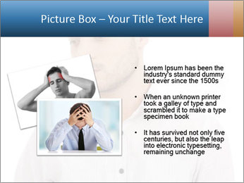 Man looking down PowerPoint Templates - Slide 20