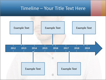 Man looking down PowerPoint Templates - Slide 28