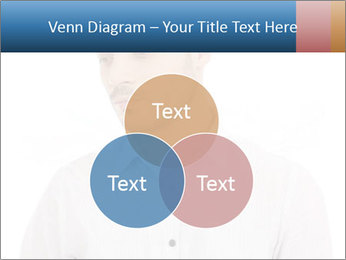 Man looking down PowerPoint Templates - Slide 33