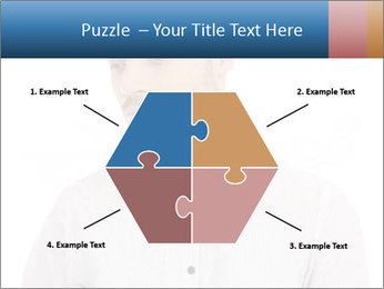 Man looking down PowerPoint Templates - Slide 40