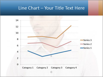 Man looking down PowerPoint Templates - Slide 54