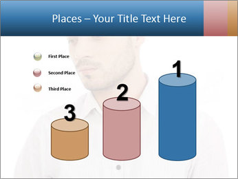 Man looking down PowerPoint Templates - Slide 65