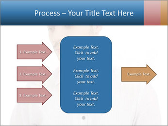 Man looking down PowerPoint Templates - Slide 85