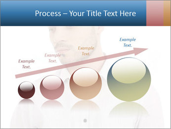 Man looking down PowerPoint Templates - Slide 87