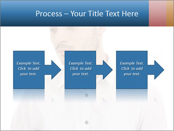 Man looking down PowerPoint Templates - Slide 88