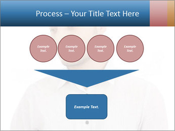 Man looking down PowerPoint Templates - Slide 93