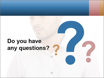 Man looking down PowerPoint Templates - Slide 96