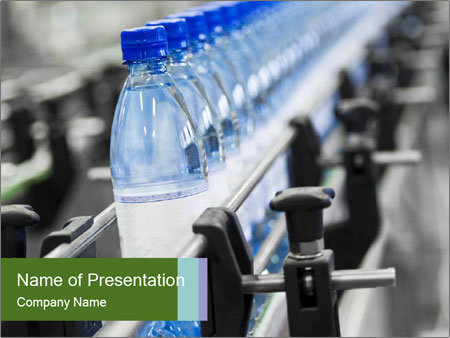 Bottle industry PowerPoint Templates