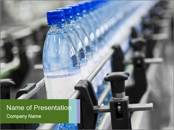 Bottle industry PowerPoint Templates - Slide 1