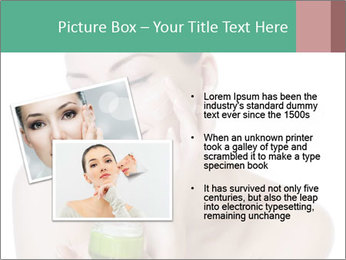 Beautiful woman applying cream PowerPoint Templates - Slide 20