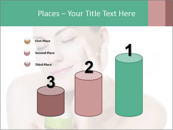 Beautiful woman applying cream PowerPoint Templates - Slide 65