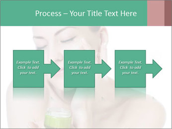 Beautiful woman applying cream PowerPoint Templates - Slide 88